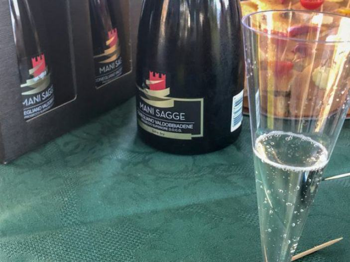 Visit Prosecco Italy Mani Sagge Winery Wine Tasting