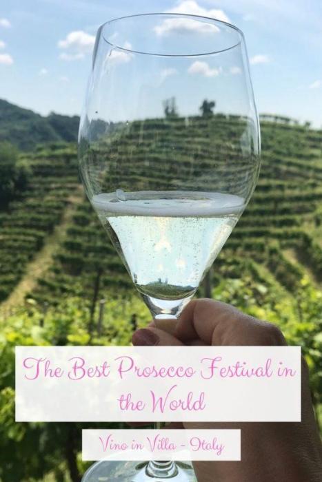 Best prosecco festival Vino in Villa Pinterest