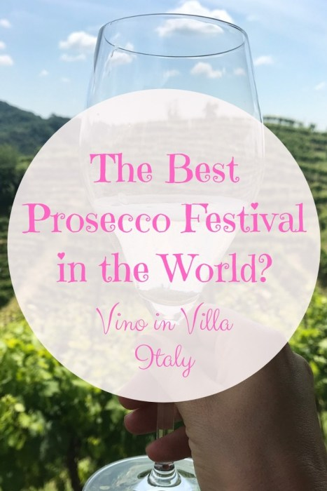 The best Prosecco festival in the world takes place in the Prosecco Superior region of Italy during spring each year. Held in Castello di San Salvatore, expect premium Prosecco only.