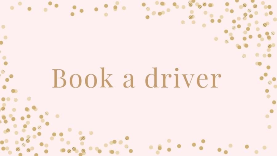 Book a prosecco tour driver
