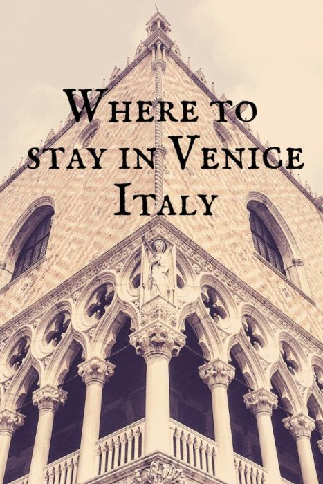 Want to know where to Stay in Venice Italy? From the best hostels in Venice to the best luxury hotels in Venice, these are the best places to stay in Venice