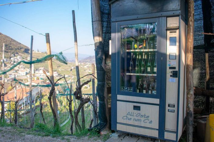 Prosecco Vending Machine Italy