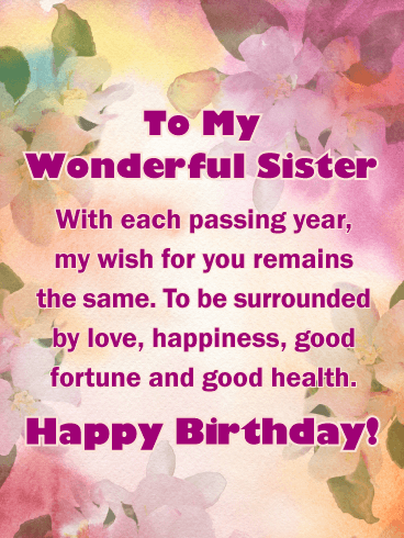 Happy Birthday Lovely Sister Tumblr Visitquotes