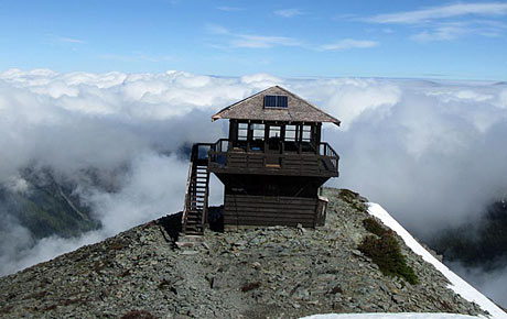 Fire Lookouts Of Mount Rainier