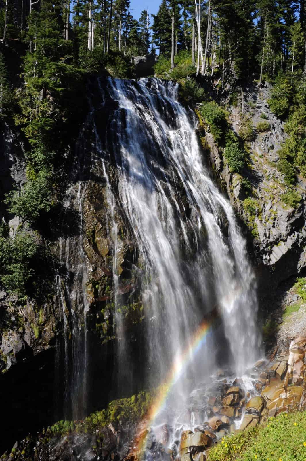 Narada Falls Visit Rainier