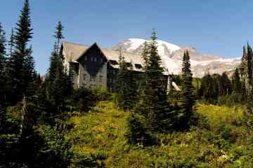 Paradise Inn at Mount Rainier National Park