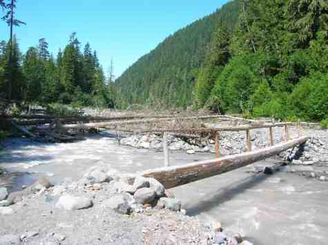 North Mowich River Crossing © Craig Romano