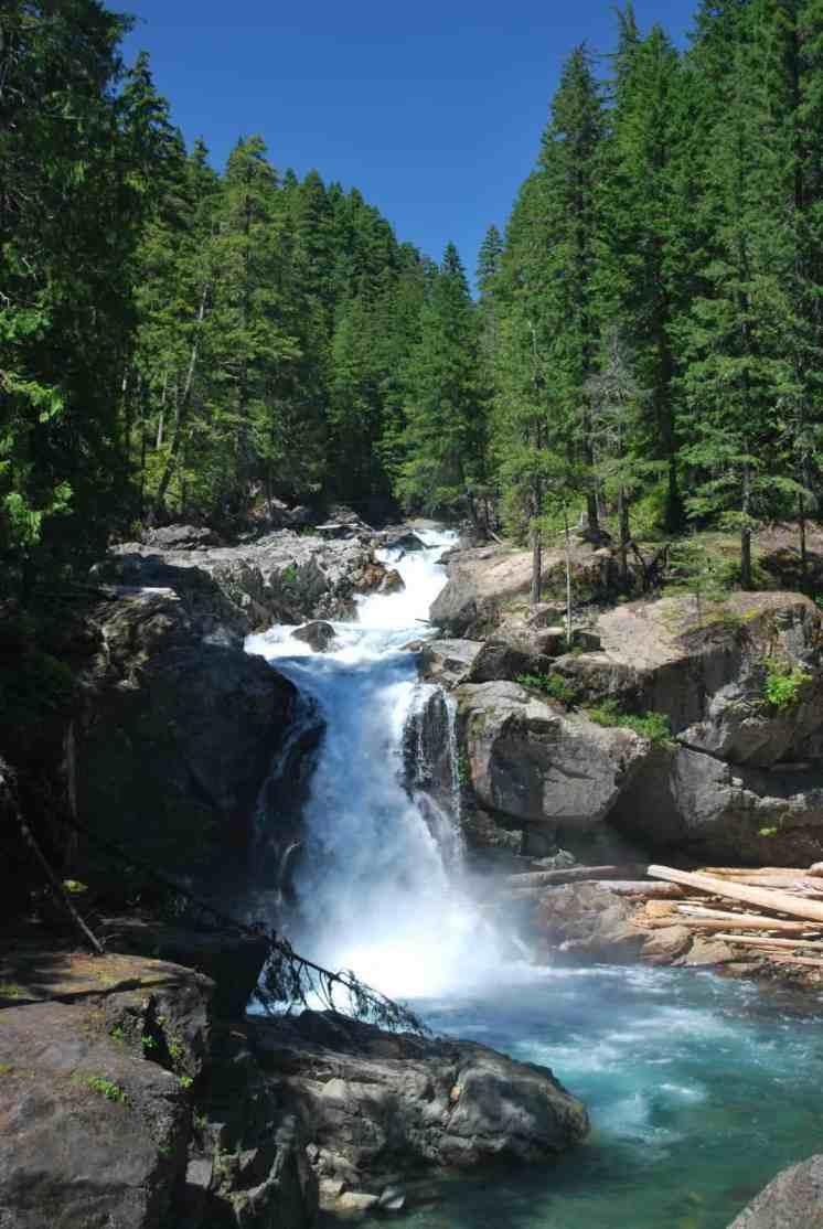 Silver Falls - Loren Lane_Visit Rainier