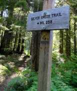 Signs point the way through the forest. © Craig Romano
