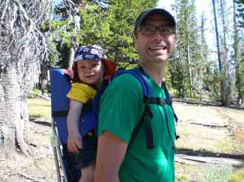 Erik and Finn on the TrailErik and Finn on the Trail © Carrie Uffindell