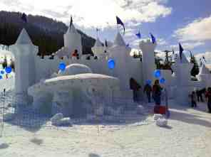 Sculptures on the Snow Castle © Carrie Uffindell