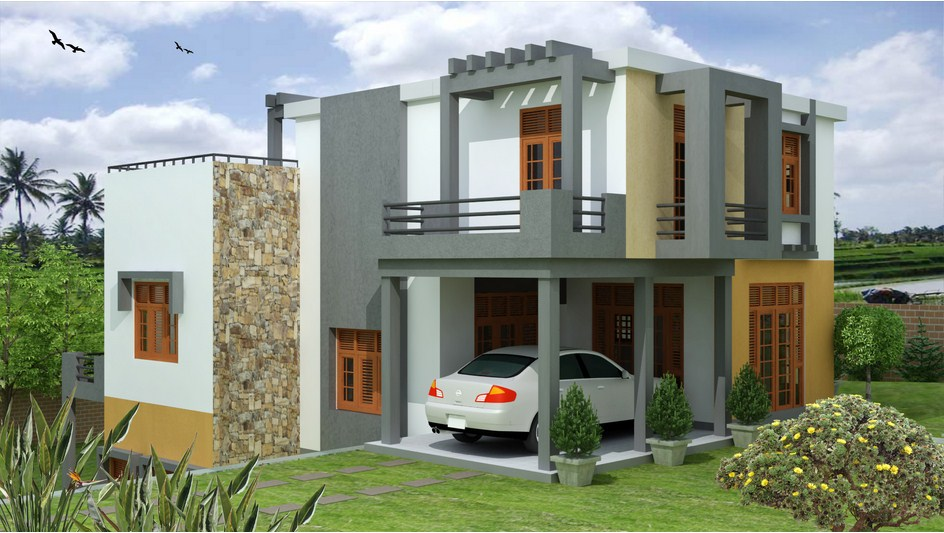 What s a better garage to the house real estate visit for Sri lanka modern house photos