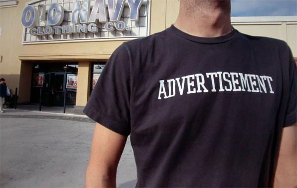 Steve Lambert ADVERTISEMENT Shirts photo