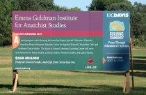 Emma Goldman Insititute for Anarchist Studies Sign