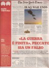 Italian coverage of NY Times Special Edition