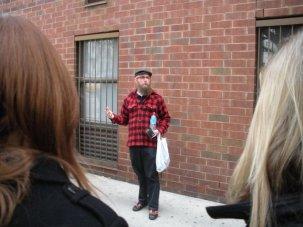 Steve Lambert walking tour