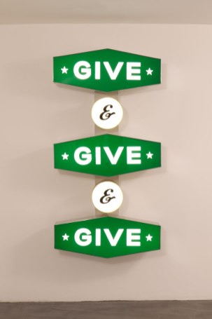 Give and Give and Give - Steve Lambert