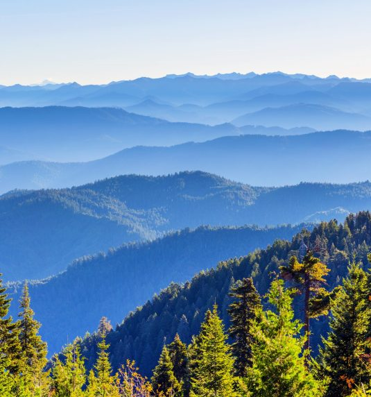 South Fork Mountain Ridge