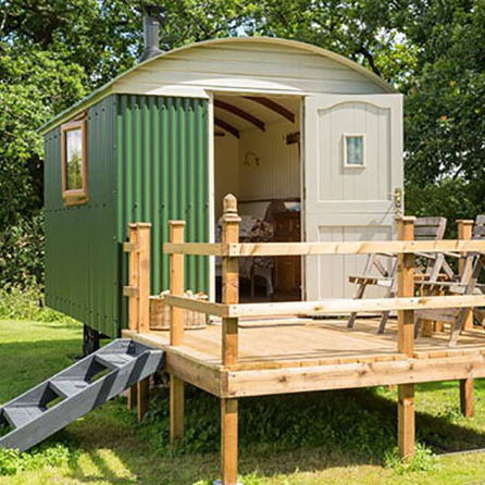 Shepherds Hut Upton Broad Oak