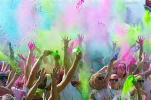 Color Cancer Gone Color Fun Run