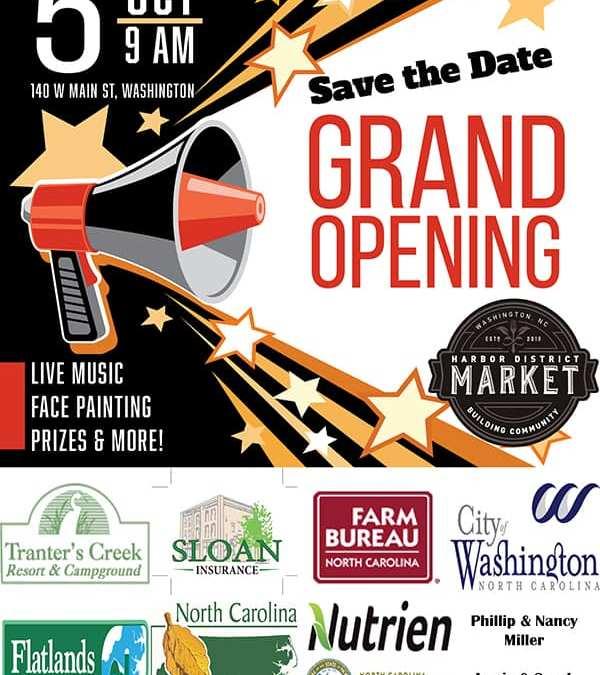 Harbor District Market Grand Opening