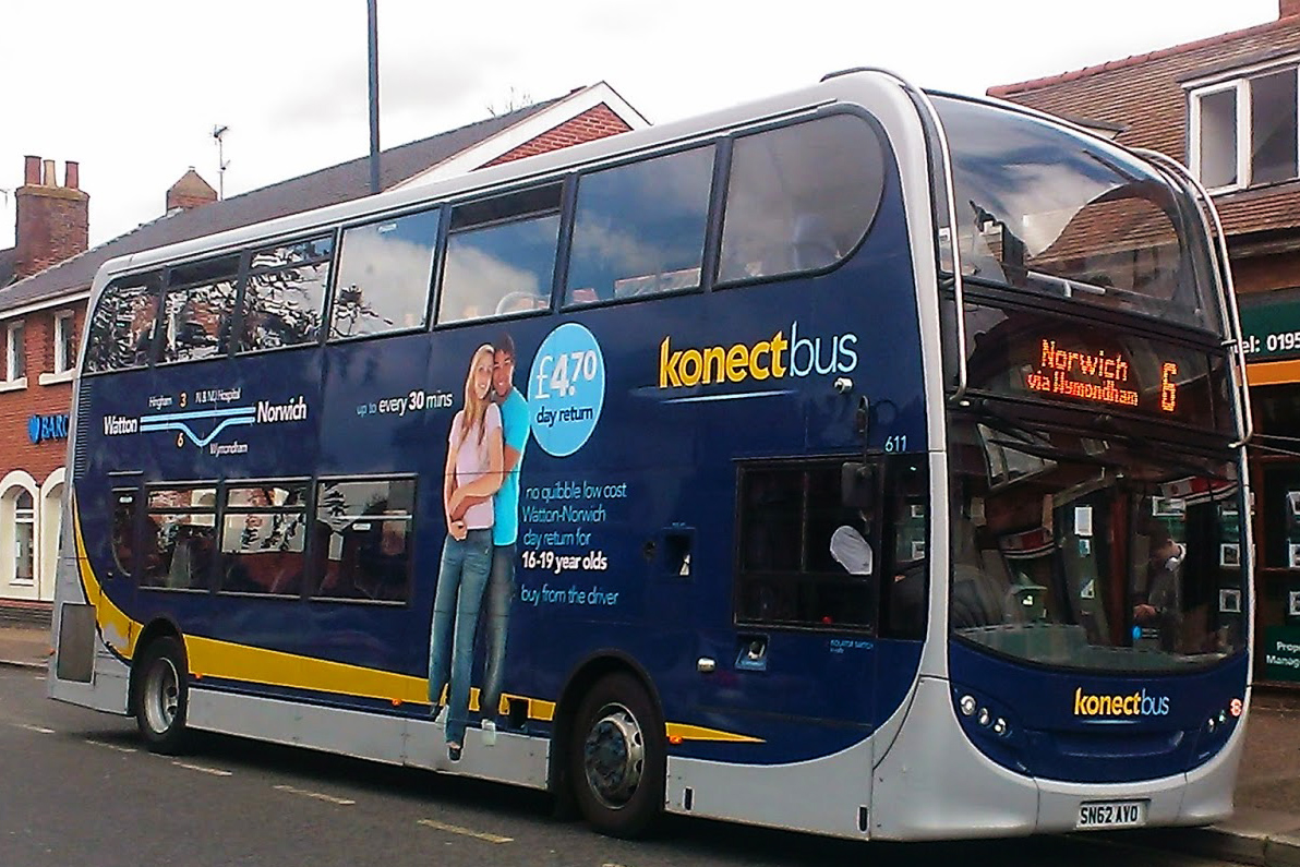 Konnect bus