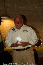 Event of the Year - Magnolia Crappie Club Wolf Lake Tournament, accepted by Mr. Charles Lindsay