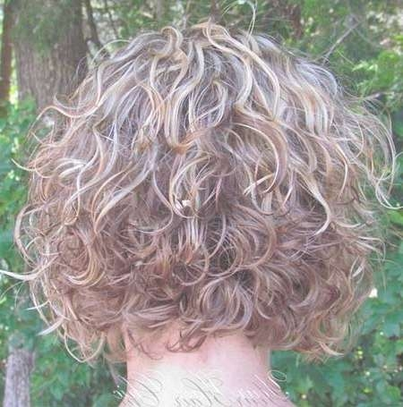 Short Stacked Haircuts For Curly Hair - The Best Haircut Of 2018