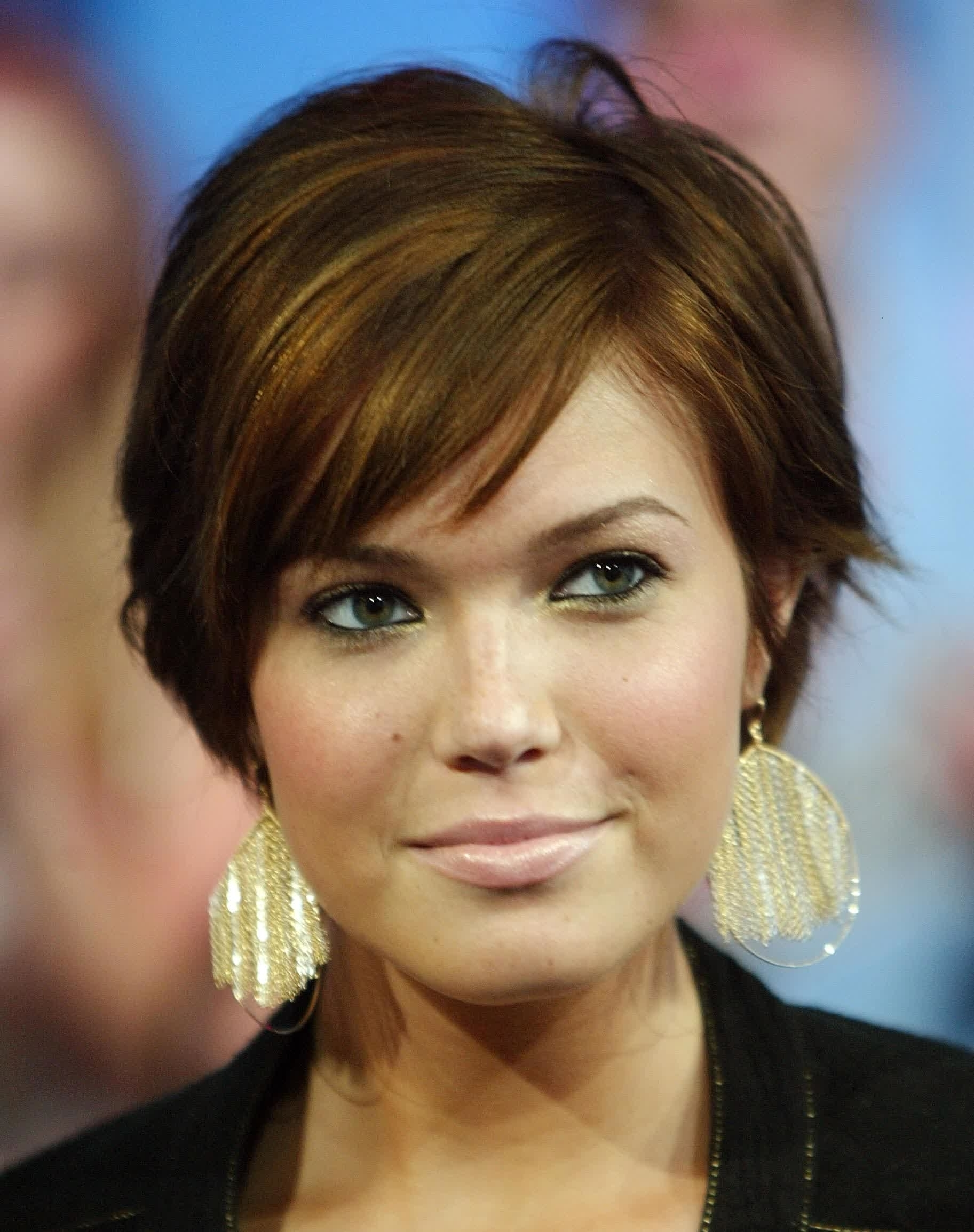 Best 15 of Pixie Hairstyles For Fat Face