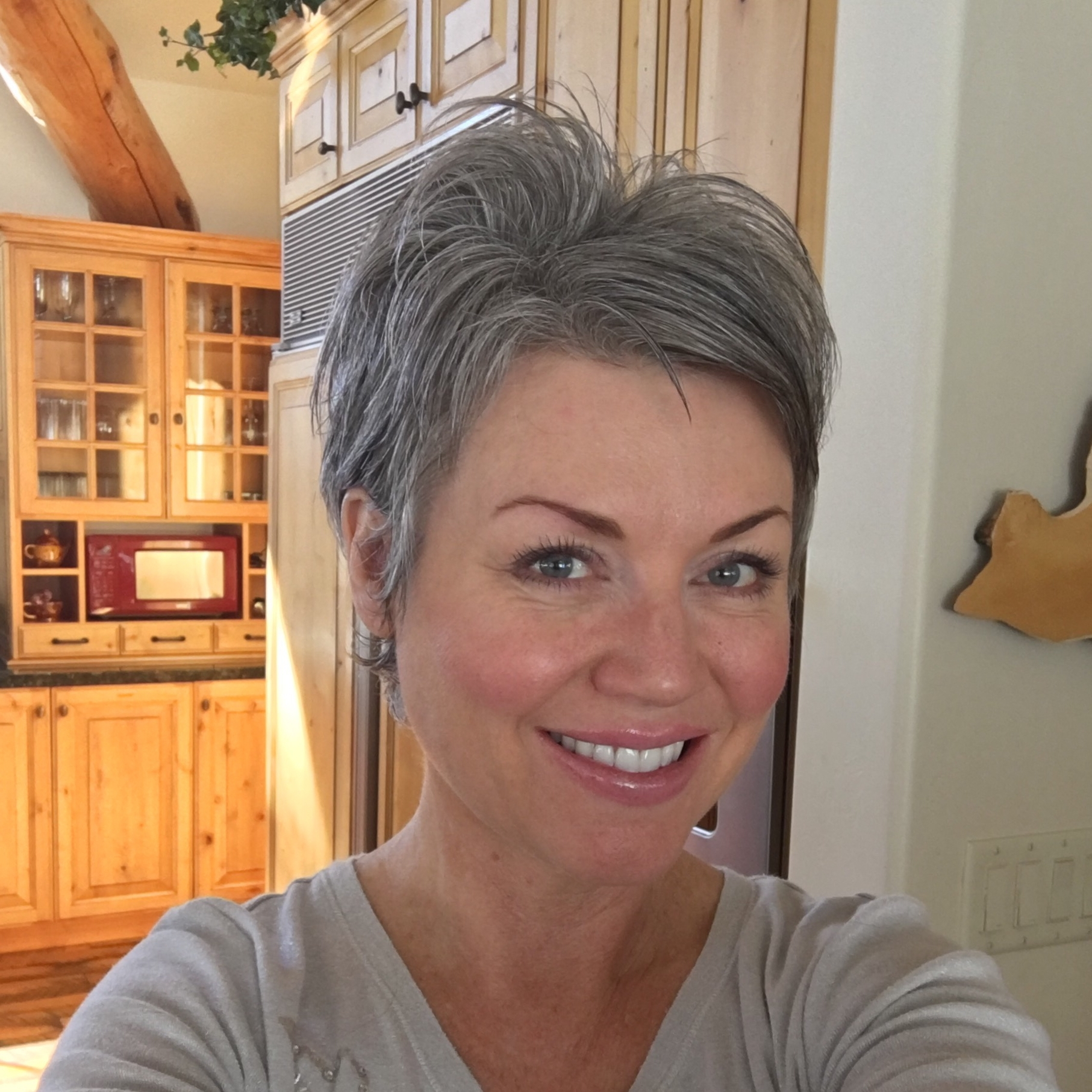 15 Ideas of Short Pixie Hairstyles For Gray Hair