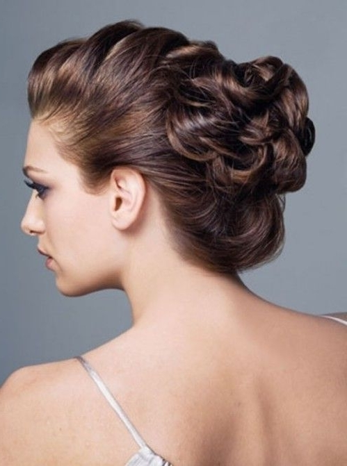 15 Photos Updo Hairstyles For Mother Of The Bride Medium