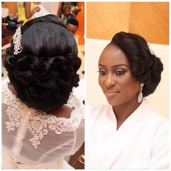 15 Collection Of Wedding Hairstyles For Nigerian Brides