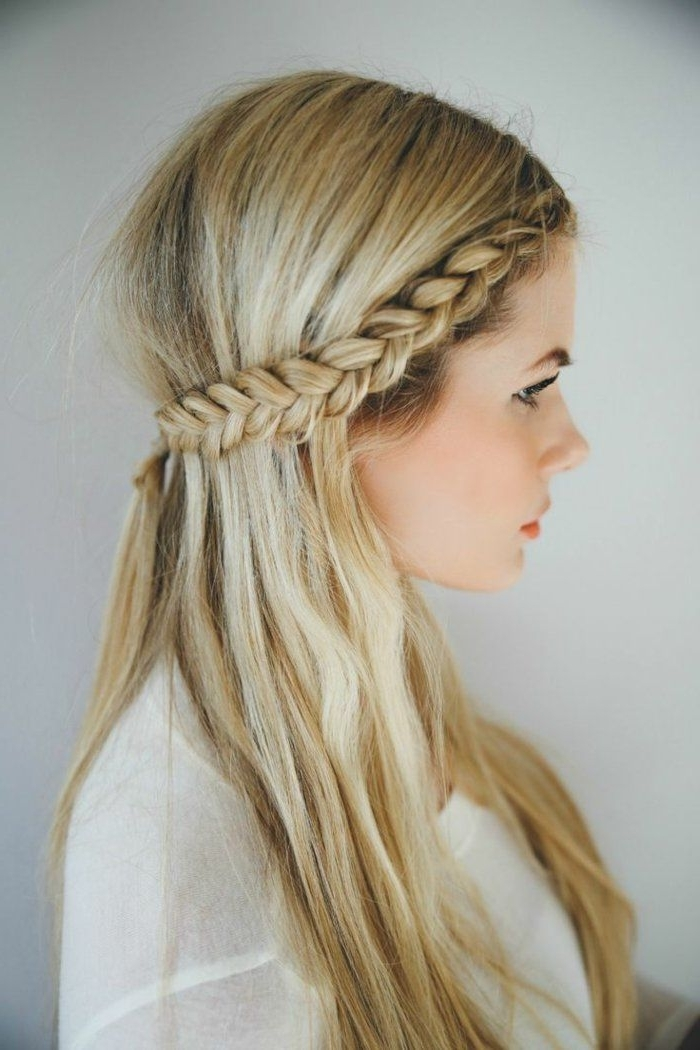 15 Best Half Updo Braids Hairstyles With Accessory
