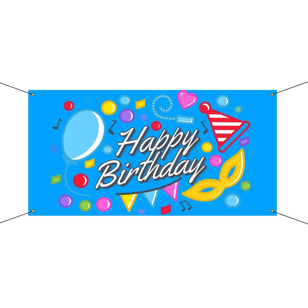 Custom Happy Birthday Banners Vispronet