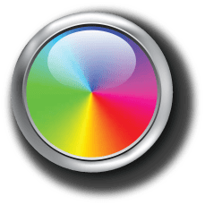 Pot multicolore