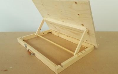 Comment fabriquer une table à dessin – EP16