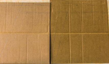 carton plan chaise
