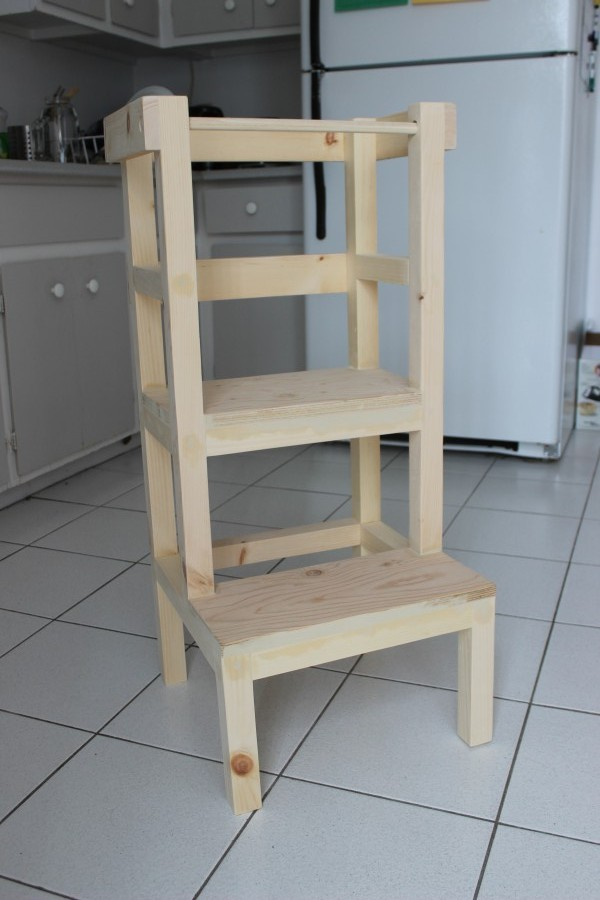 tabouret tour d'apprentissage