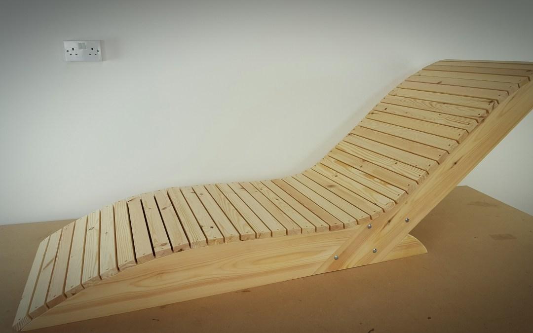 Comment faire une chaise longue – EP22
