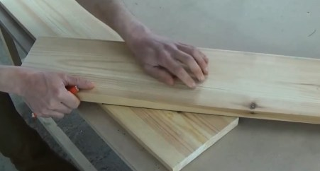 Tracer l'inclinaison de la planche