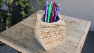 comment faire un pot a crayon