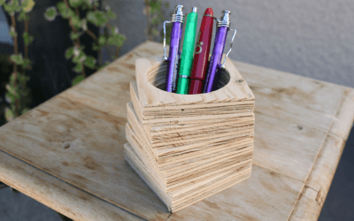 Comment faire un pot à crayon design – EP27