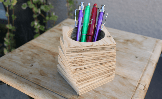 comment faire un pot a crayon