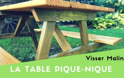 Comment fabriquer une table pique-nique
