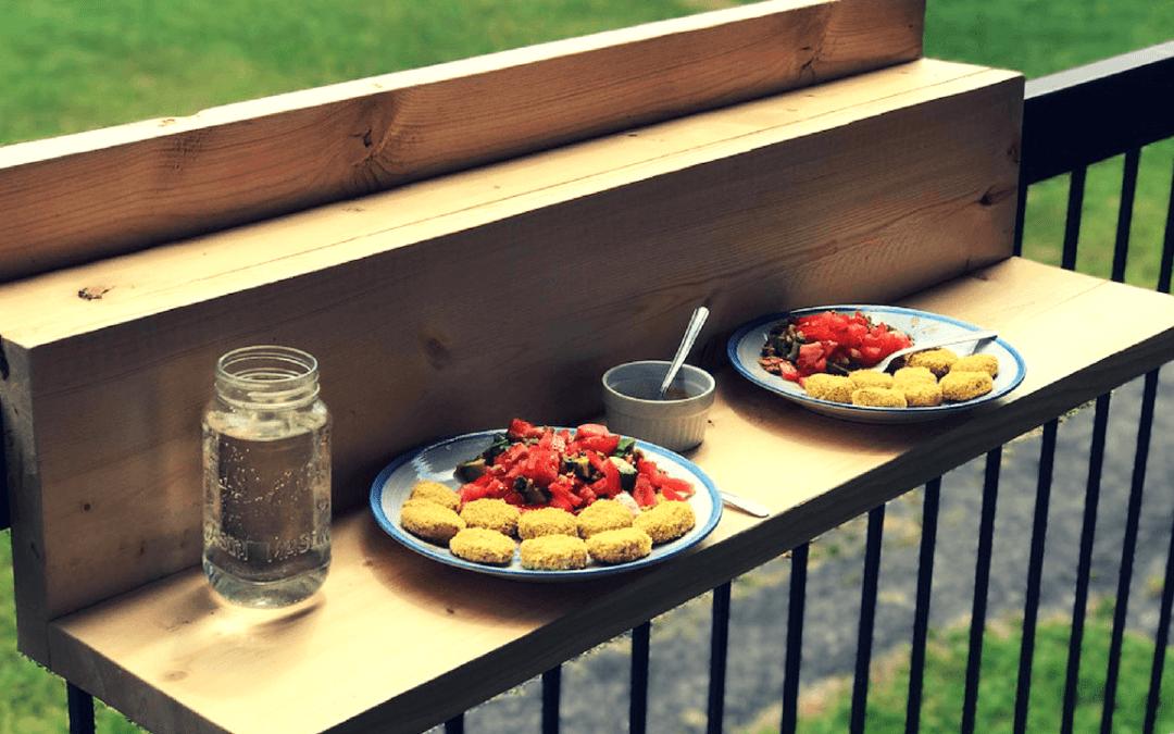 Comment faire un bar de balcon suspendu