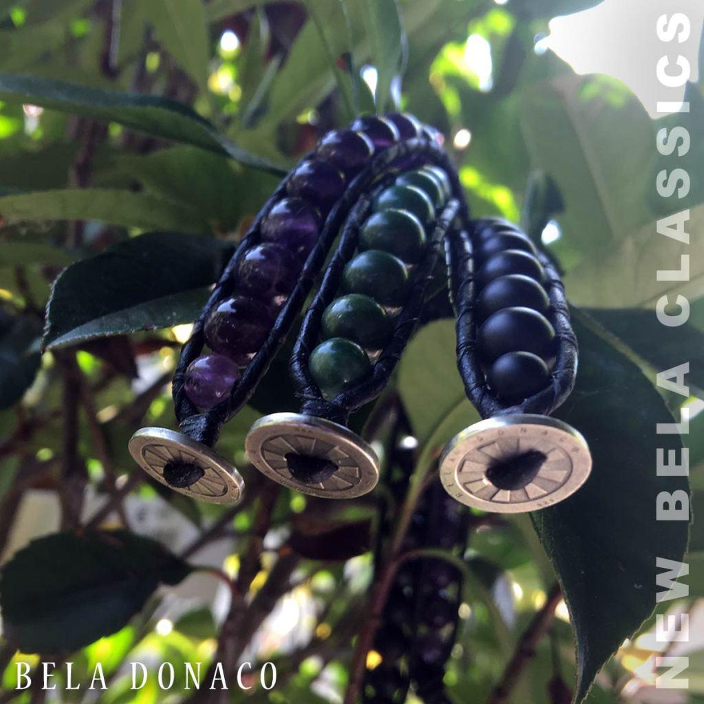 Bela Donaco Classic Armbanden met diverse edelstenen