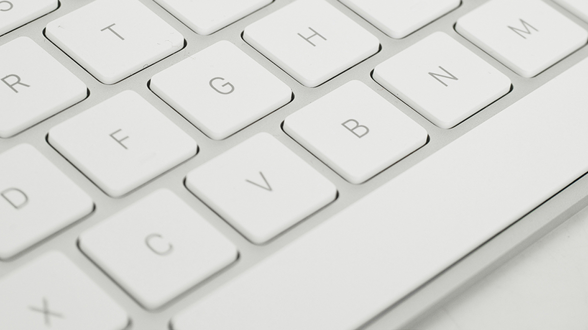 Keyboard showing spacebar, in blog One Space or Two