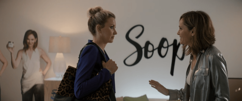 Goliath Season 3: The Weird and the Wonderful. Patty meets Diana at Soop (Goop).