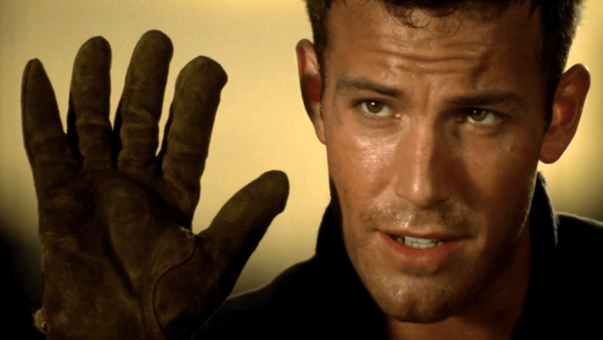 Ben Affleck has five - or is it six- important words to say to us in the film Armageddon (1998): It's the size of Texas.