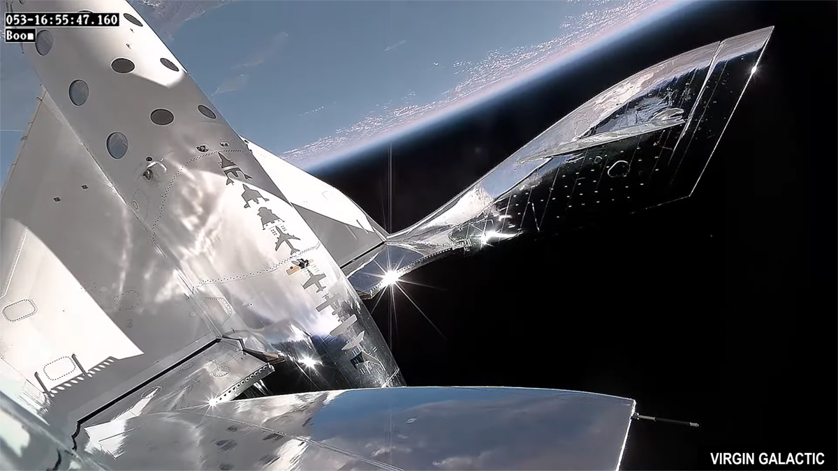 Virgin Galactic - VSS Unity - 11 July 2021 - The Edge of Space and the Karman line
